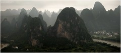 Li river mountains. photo by J.M.Fransen (jero 053)