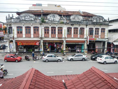 Average street scene in Malaysia