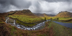 Kettle Crag & Redacre Gill (Langdale Panorama), Lake District photo by flatworldsedge