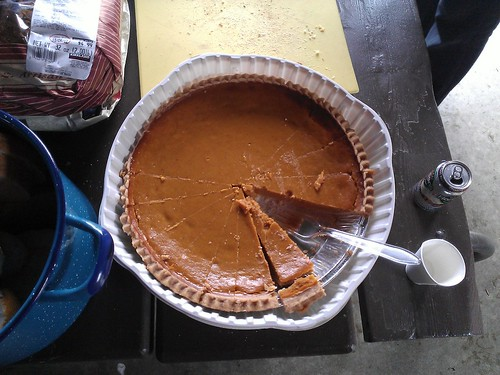 Recovery pie.