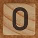 Calendari del bloc de fusta nombre 0