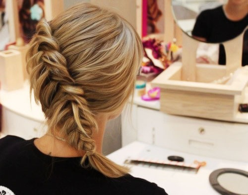 braid hair - side braids