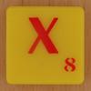 Scrabble Simpsons Letter X