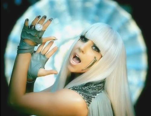 Lady Gaga Poker Face Hair Style