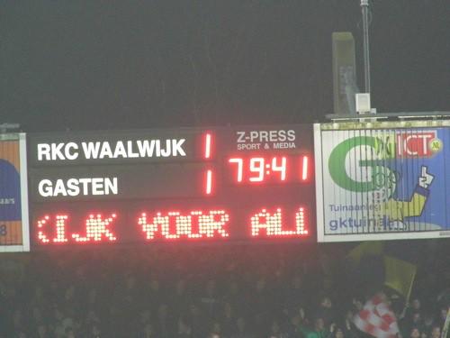 8216757349 2a2103c6d6 RKC Waalwijk   FC Groningen 1 1, 24 november 2012