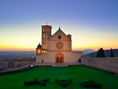 PAX, Peace at St. Francis of Assisi at sunset, Italy photo by Sir Francis Canker Photography ©