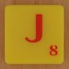 Scrabble Simpsons Letter J