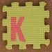 Foam Letter K