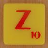 Scrabble Simpsons Letter Z