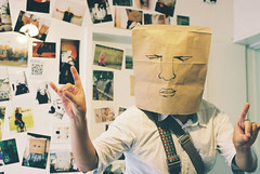 paper bag fighter...PBP photo by uruyuta