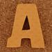 Foam Letter A