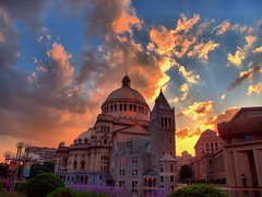 Sunset HDR photo by brooksbos