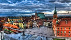 0309 - Poland, Warsaw, Plac Zamkowy W Warszawie HDR photo by Barry Mangham