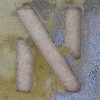 Stencil Letter N
