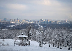 Snow and City (1) photo by savl_ukr