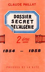 DOSSIER SECRET DE L'ALGERIE 1954-1958