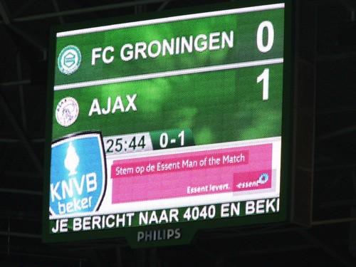 8292749385 b9f9261b77 FC Groningen   Ajax 0 3, 20 december 2012 (beker)