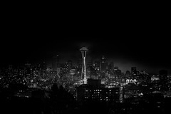 Seattle in Black and White photo by John Westrock