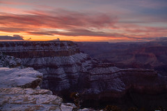 Grand Canyon sunset photo by RSBurnsIM