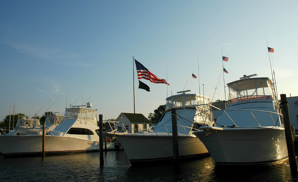 boats and flags