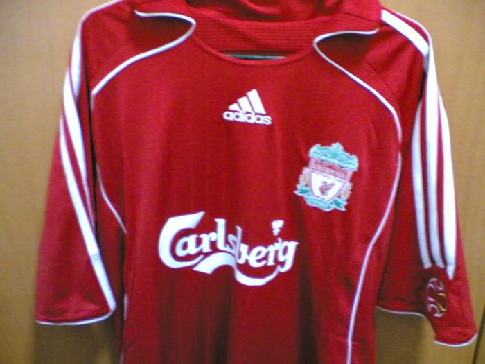 promo code d9959 6847a The Red Cauldron: I GOT MY LIVERPOOL JERSEY!