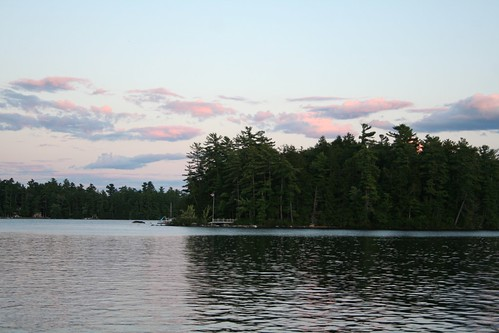 Sunset on Sebago
