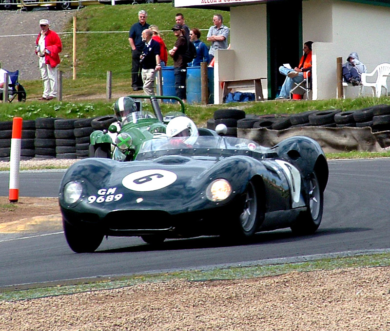Lister at Knockhill