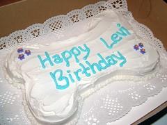 Levi's Birthday Cake