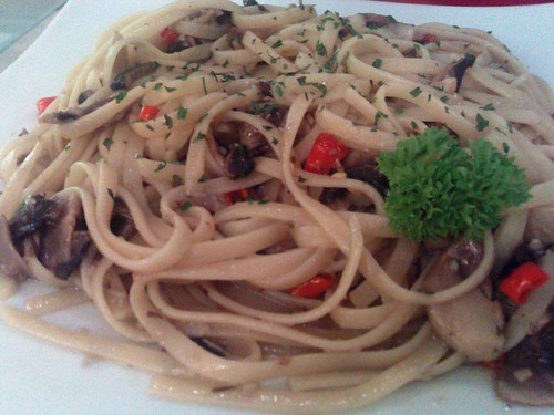 Mushroom Olio - Spicy