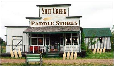 Shit Creek Paddle Store
