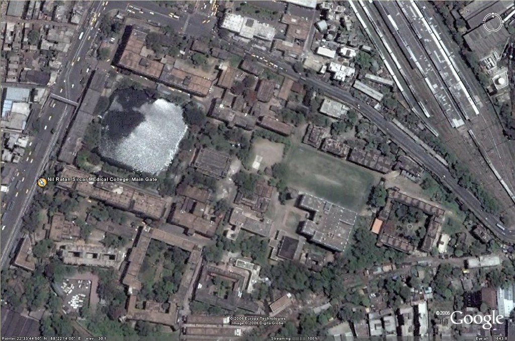 sealdah satellite view