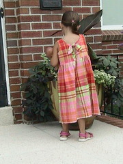 new summer dress. . . momma made it!
