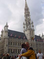 Liz and Koen in Brussels