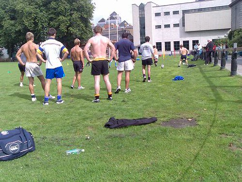TCD Rugby Practice