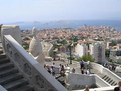 Utsikt från La Bonne Mère