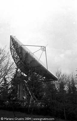 antena do centro nacional de meteorologia