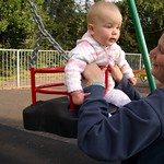a quick go on the swings<br/>17 Sep 2005