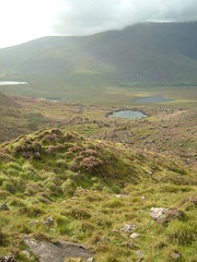 Approaching the Connor Pass, Dingle