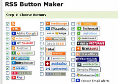 RSS Buttons