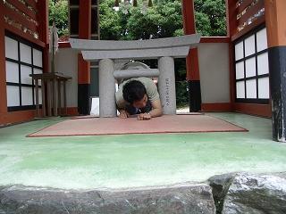 20060520 大縣神社 ミニ鳥居
