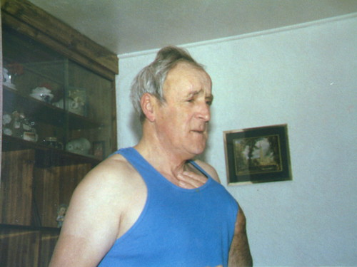 Dad, Donald (aka. Dolan) MacDonald in his blue vest