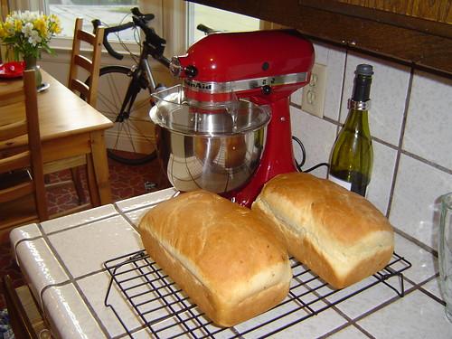 Matt's homemade bread