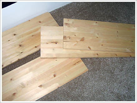 shelving boards