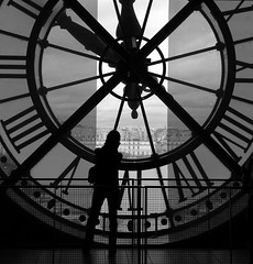 Clock face in Musee d'Orsay