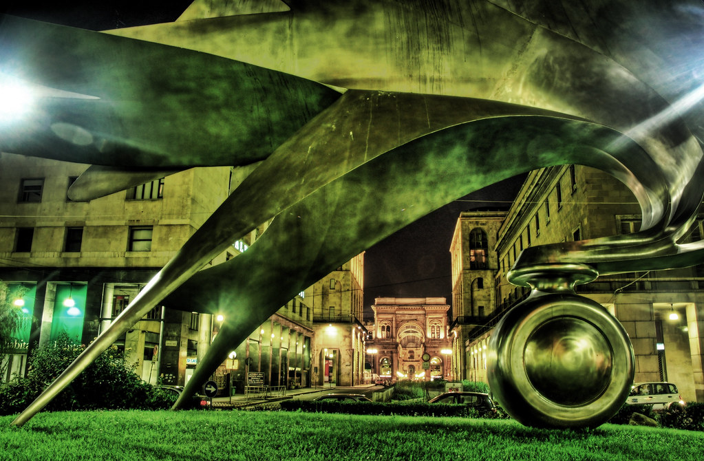 Milan in Brass