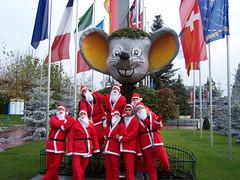 Papas Noël au Paparc