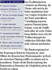 Libanesische Militärs dürfen auf deutsche Boote