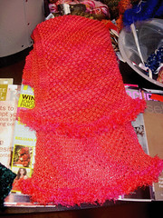 Artyarns Red Scarf