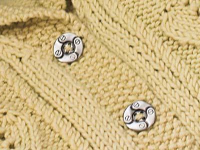 Buttons close-up