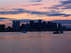 Downtown Boston from the Bay
